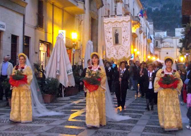 Celebration of Saint Rita and Historical Parade Castellammare del Golfo